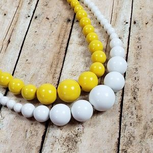 Set Of 2  Bubble Necklace Costume Jewelry